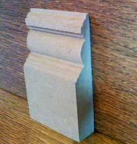 Edwardian MDF Skirting