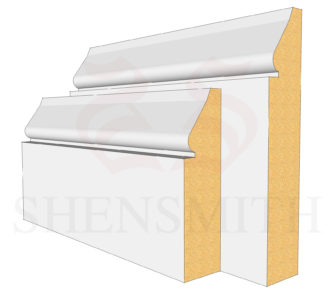 1898 MDF Skirting Board