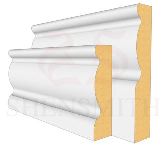 2107 MDF Skirting Board