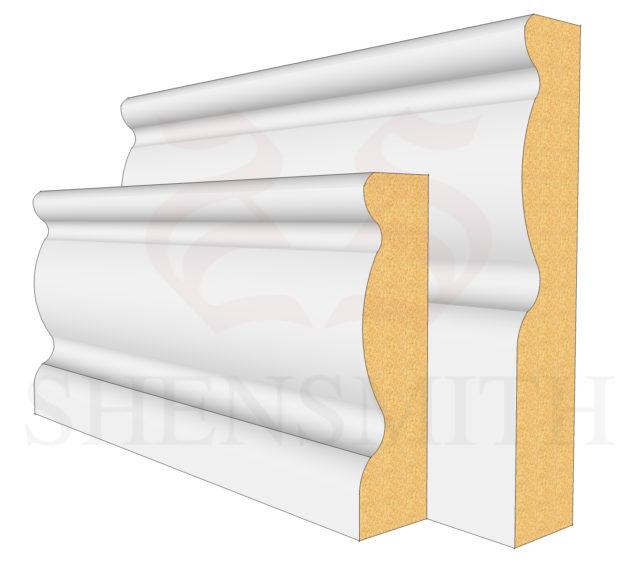 2107 MDF Skirting Board