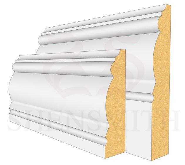 2305 MDF Skirting Board
