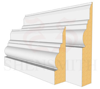 Antique Profile Skirting Board