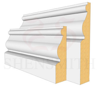 Ayelsbury Profile Skirting Board