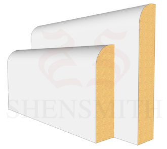 Bullnose Profile Skirting Board