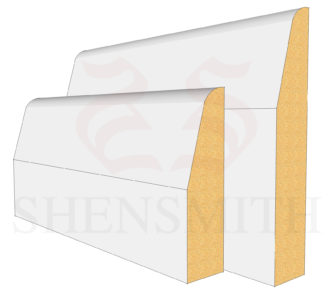 Chamfered Profile Skirting Board