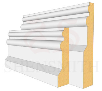 Colonial Profile Skirting Board