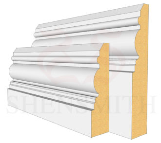 Devon MDF Skirting Board