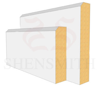 Edge 2 Profile Skirting Board