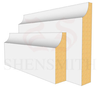Edge Profile Skirting Board