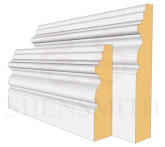 Elizabethan MDF Skirting Board