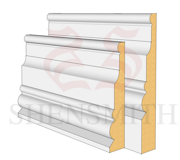 London MDF Skirting Board