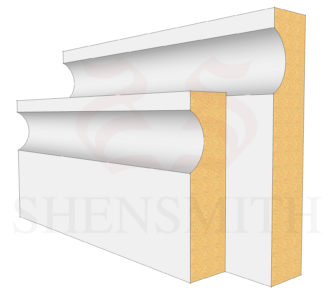 Modern Profile Skirting Board