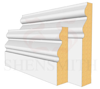Norfolk Profile Skirting Board