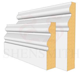 Norfolk Profile Skirting Board
