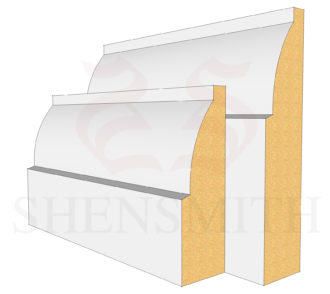 ovolo MDF Skirting Board