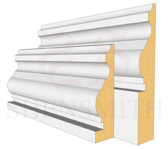 Royal MDF Skirting Board