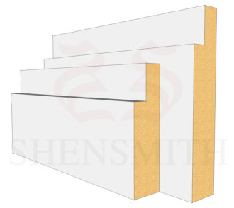 Step MDF Skirting Board