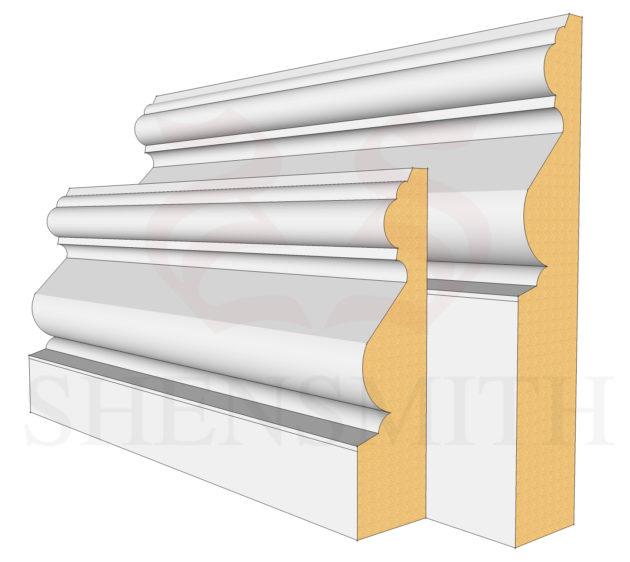 Victoriana MDF Skirting Boards