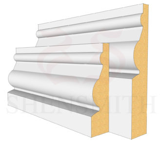 Ward Profile Skirting Board