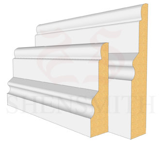 Warwick MDF Skirting Board