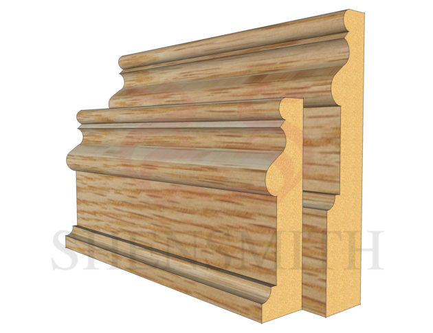 2059 Oak Skirting Board