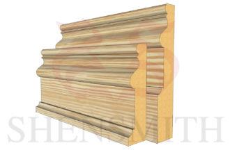 2059 profile Pine Skirting Board