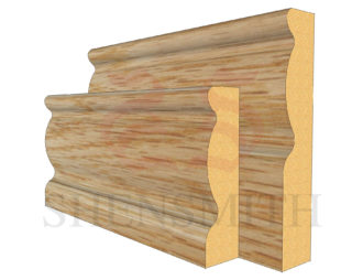 2107 Oak Skirting Board