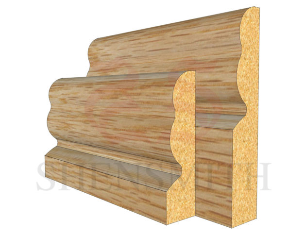 2513 Oak Skirting Board