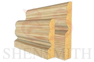 2513 profile Pine Skirting Board