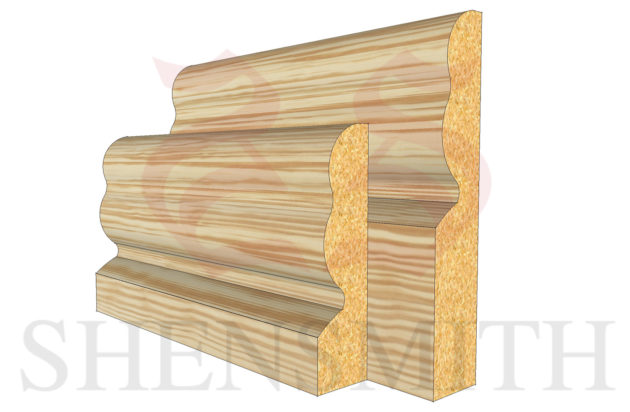 2513 profile Pine Skirting Board