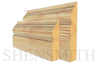 324 Pine Skirting Board