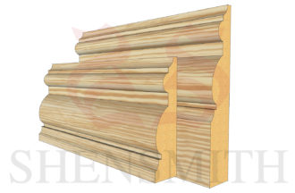 PIB profile Pine Skirting Board