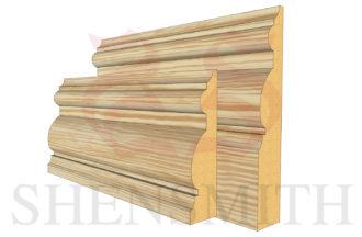 PIB profile Pine Skirting Board