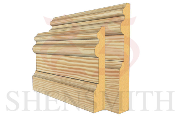 adrian profile Pine Skirting Board