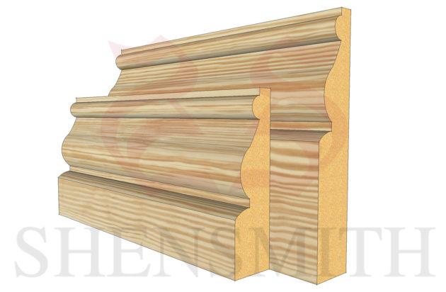 ayelsbury profile Pine Skirting Board