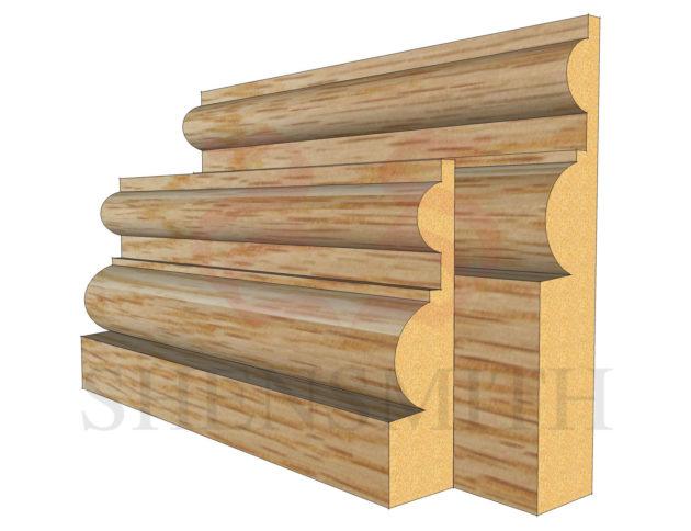 belmoral Oak Skirting Board