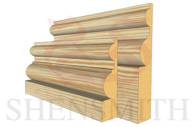 belmoral profile Pine Skirting Board