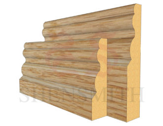 buckingham Oak Skirting Board