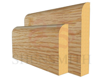 bullnose Oak Skirting Board