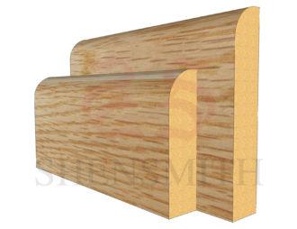 bullnose Oak Skirting Board