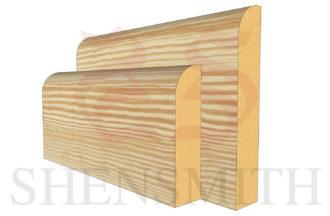 bullnose Pine Skirting Board