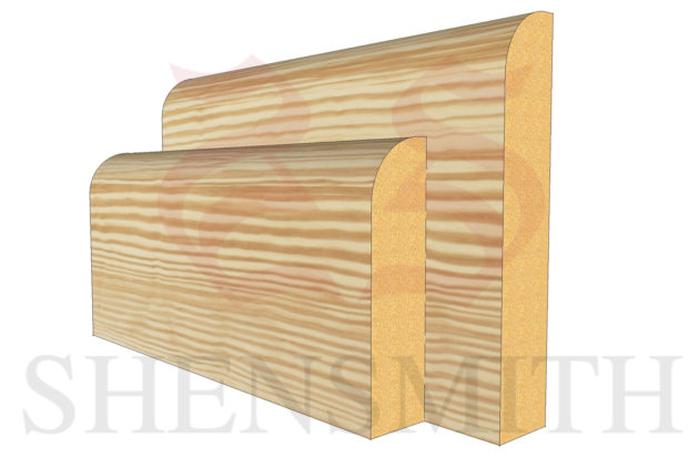 bullnose Pine Skirting Board