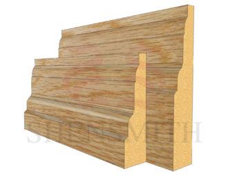 castle Oak Skirting Board
