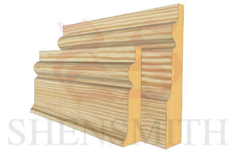 chelsea profile Pine Skirting Board