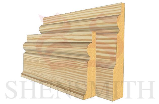 chelsea profile Pine Skirting Board