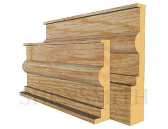 classic Oak Skirting Board