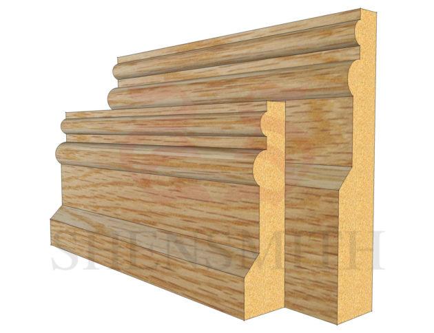 colonial Oak Skirting Board
