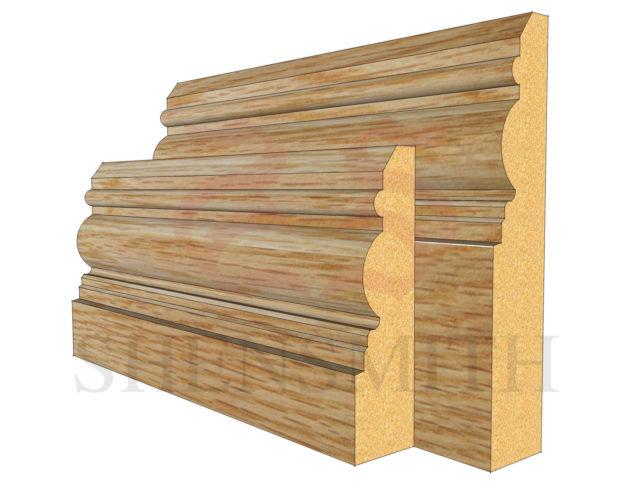 devon Oak Skirting Board