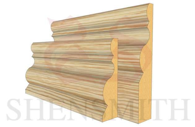 highgrove profile Pine Skirting Board