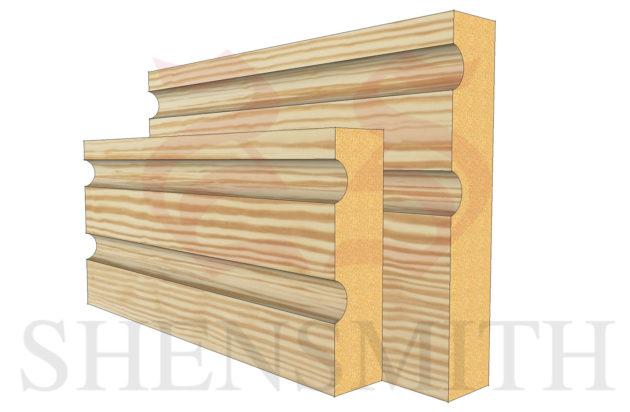jazz 2 profile Pine Skirting Board